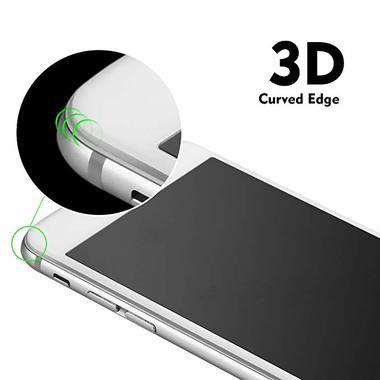 Защитное стекло на iPhone 7P/8P King Kong 3D Белое, фото №4