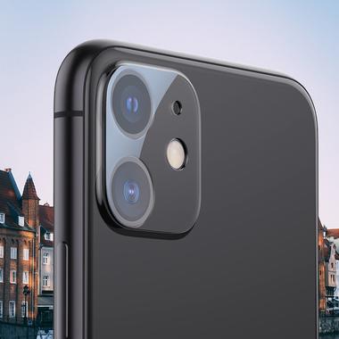 Защитное стекло на камеру для iPhone 11 (2шт, KR серия 0.15 мм.), фото №1