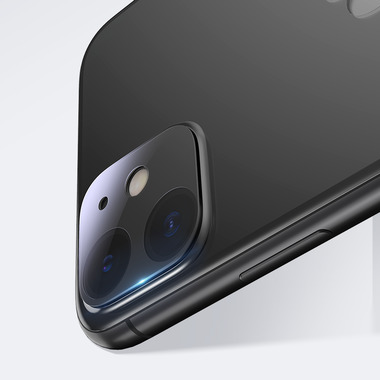 Защитное стекло на камеру для iPhone 11 (2шт, KR серия 0.15 мм.), фото №2