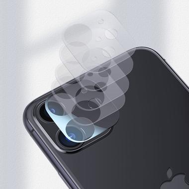 Защитное стекло на камеру для iPhone 11 (2шт, KR серия 0.15 мм.), фото №3