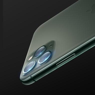 Защитное стекло на камеру для iPhone 11 Pro/ 11 Pro Max, фото №6