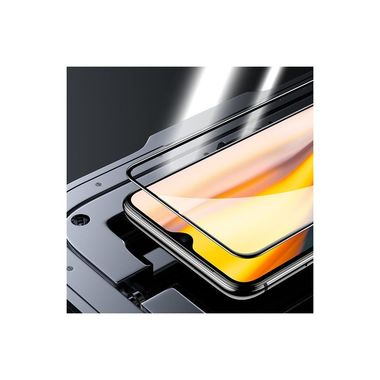 Защитное стекло для One + 7 серия Vpro - черная рамка, фото №4