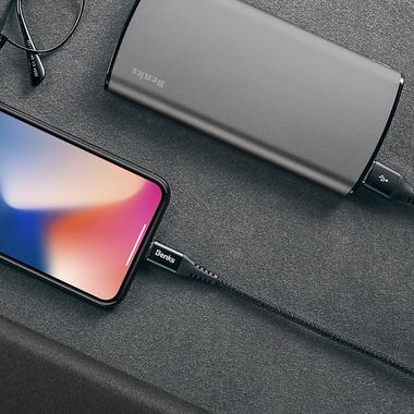 Lightning USB кабель черный, 120 см - Chidian, фото №2