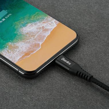 Lightning USB кабель черный, 25 см - Chidian, фото №6