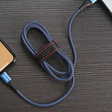 Lightning USB кабель синий, 120 см - Chidian, фото №1