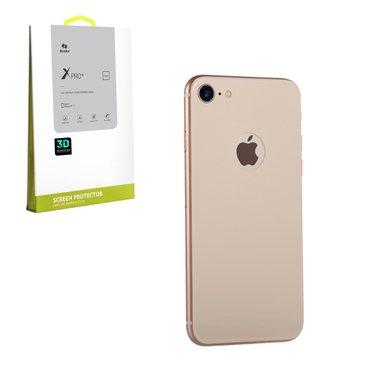 Защитное стекло для iPhone 8 Plus (задняя сторона) - золотой цвет, фото №1