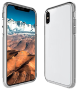 Чехол для iPhone X Magic Pure белый - фото 1