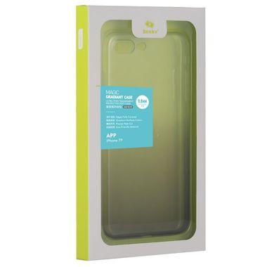 Градиентный чехол на iPhone 7P/8P черный, фото №1