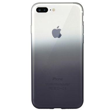 Градиентный чехол на iPhone 7P/8P черный, фото №5
