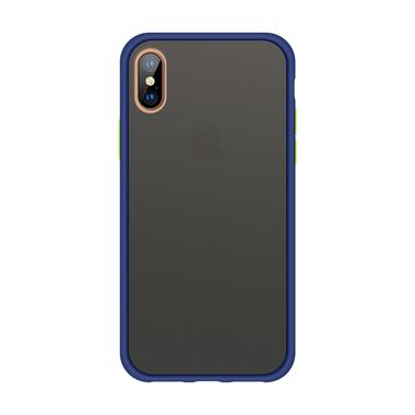 Чехол для iPhone Xs Max - Magic Smooth синий 1,5мм, фото №1