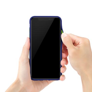Чехол для iPhone Xs Max - Magic Smooth синий 1,5мм, фото №3