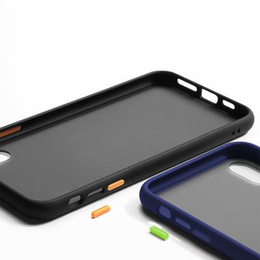 Чехол для iPhone Xs Max - Magic Smooth синий 1,5мм, фото №4