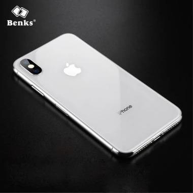 Защитное стекло для iPhone X Back Glass - Silvery KR+Pro 3D, фото №4