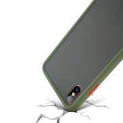Чехол для iPhone Xs Max - Magic Smooth зеленый 1,5мм