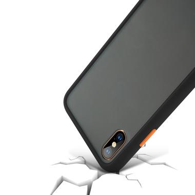 Чехол для iPhone Xs Max - Magic Smooth черный 1,5мм, фото №2