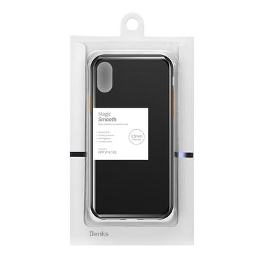 Чехол для iPhone Xs Max - Magic Smooth черный 1,5мм, фото №6