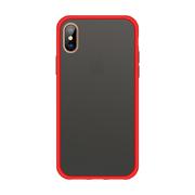 Чехол для iPhone Xs Max - Magic Smooth красный 1,5мм