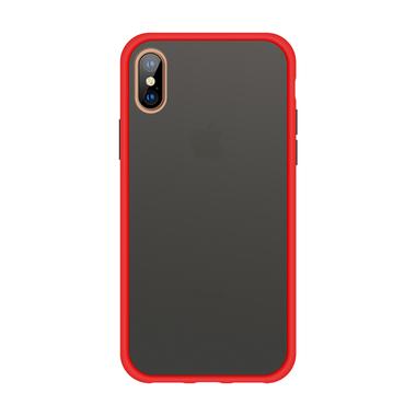 Чехол для iPhone Xs Max - Magic Smooth красный 1,5мм, фото №1