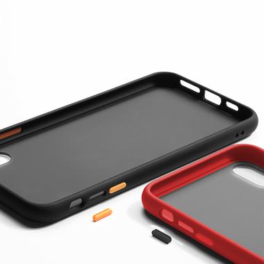 Чехол для iPhone Xs Max - Magic Smooth красный 1,5мм, фото №4