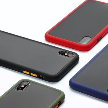 Чехол для iPhone Xs Max - Magic Smooth красный 1,5мм, фото №5