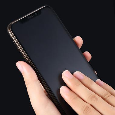Матовое защитное стекло на iPhone XS/X (5.8') - 0,3 мм VPro 3D, фото №2