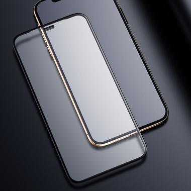 Матовое защитное стекло на iPhone XS/X (5.8') - 0,3 мм VPro 3D, фото №4