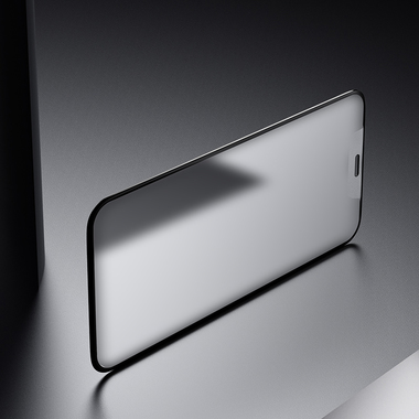 Матовое защитное стекло на iPhone XS/X (5.8') - 0,3 мм VPro 3D, фото №5