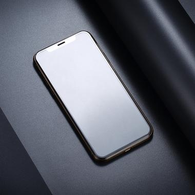 Матовое защитное стекло на iPhone XS/X (5.8') - 0,3 мм VPro 3D, фото №6