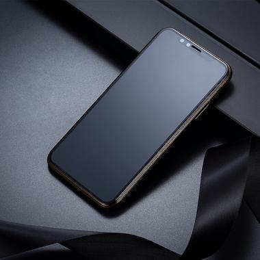 Матовое защитное стекло на iPhone XS/X (5.8') - 0,3 мм VPro 3D, фото №7