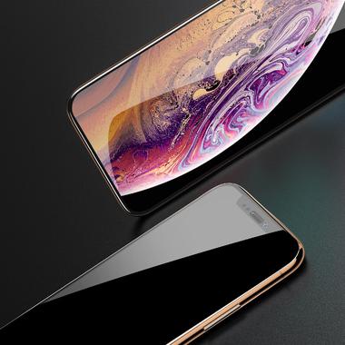 Защитное стекло 3D на iPhone XS/X (5.8') - 0,23 мм Black Xpro, фото №1