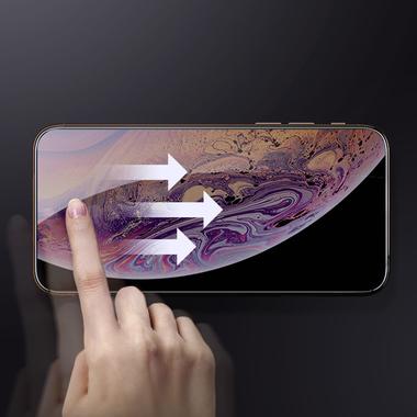 Защитное стекло 3D на iPhone XS/X (5.8') - 0,23 мм Black Xpro, фото №2