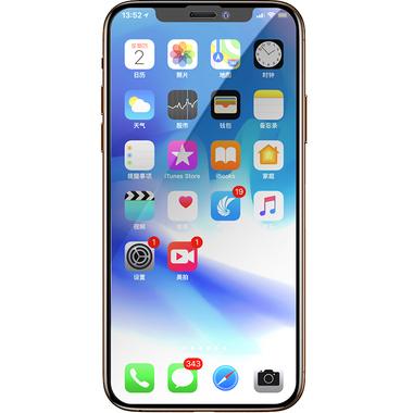 Защитное стекло 3D на iPhone XS/X (5.8') - 0,23 мм Black Xpro, фото №3