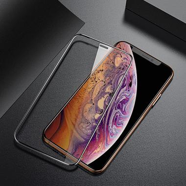 Защитное стекло 3D на iPhone XS/X (5.8') - 0,23 мм Black Xpro, фото №4