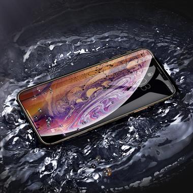 Защитное стекло 3D на iPhone XS/X (5.8') - 0,23 мм Black Xpro, фото №5