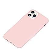 Силиконовый чехол для iPhone 11 Pro Max Magic Silki - розовый