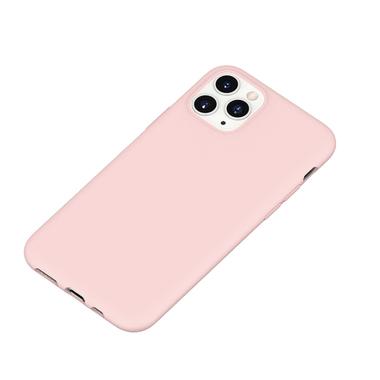 Силиконовый чехол для iPhone 11 Pro Max Magic Silki - розовый, фото №1