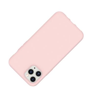 Силиконовый чехол для iPhone 11 Pro Max Magic Silki - розовый, фото №2