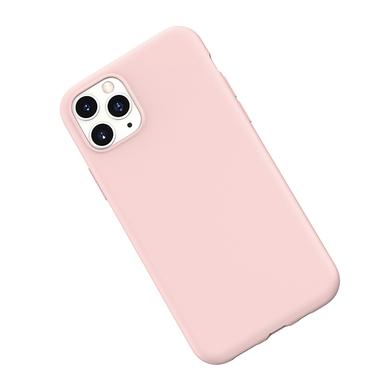 Силиконовый чехол для iPhone 11 Pro Max Magic Silki - розовый, фото №3