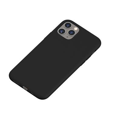 Силиконовый чехол для iPhone 11 Pro Max Magic Silki - черный, фото №1