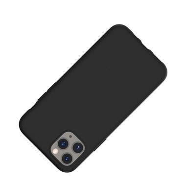Силиконовый чехол для iPhone 11 Pro Max Magic Silki - черный, фото №2