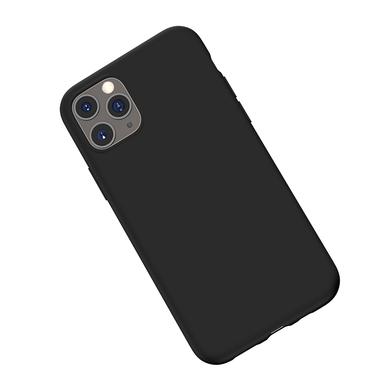 Силиконовый чехол для iPhone 11 Pro Max Magic Silki - черный, фото №3