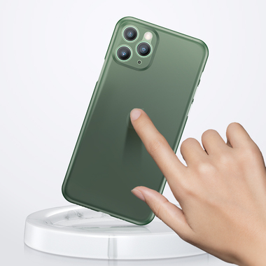 Чехол для iPhone 11 Pro 0,4 mm - темно-зеленый LolliPop, фото №2