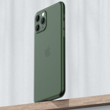 Чехол для iPhone 11 Pro 0,4 mm - темно-зеленый LolliPop, фото №4