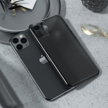Чехол для iPhone 11 Pro 0,4 mm - черный LolliPop, фото №1