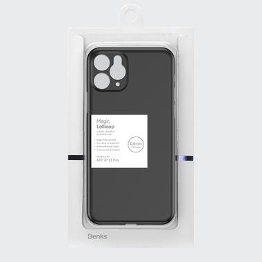 Чехол для iPhone 11 Pro 0,4 mm - черный LolliPop, фото №5