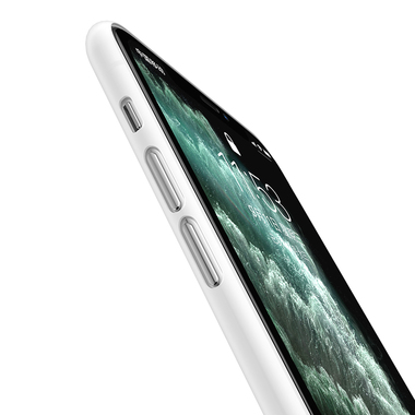 Чехол для iPhone 11 Pro 0,4 mm - белый полупрозрачный LolliPop, фото №4