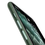 Чехол для iPhone 11 Pro Max 0,4 mm - темно-зеленый LolliPop - фото 1