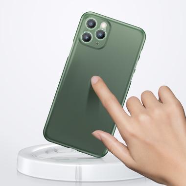 Чехол для iPhone 11 Pro Max 0,4 mm - темно-зеленый LolliPop, фото №6