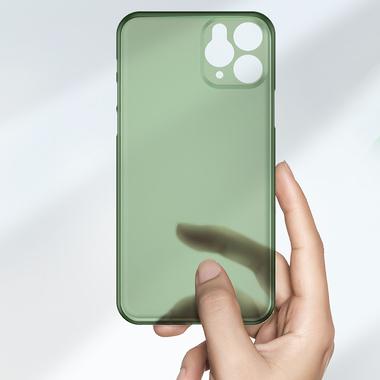 Чехол для iPhone 11 Pro Max 0,4 mm - темно-зеленый LolliPop, фото №7