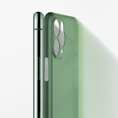 Чехол для iPhone 11 Pro Max 0,4 mm - темно-зеленый LolliPop, фото №9